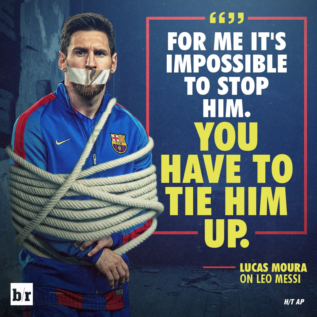 Lucas Moura Vs Barca: Psg's Lucas Moura Knows The Only Way To Stop Lionel Messi