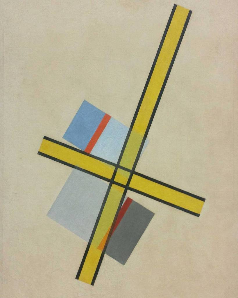 #laszlomoholynagy #yellowcross #painting #abstractpainting #timeisoutofjoint #lagalleriana… https://t.co/rfYA8TdG9J