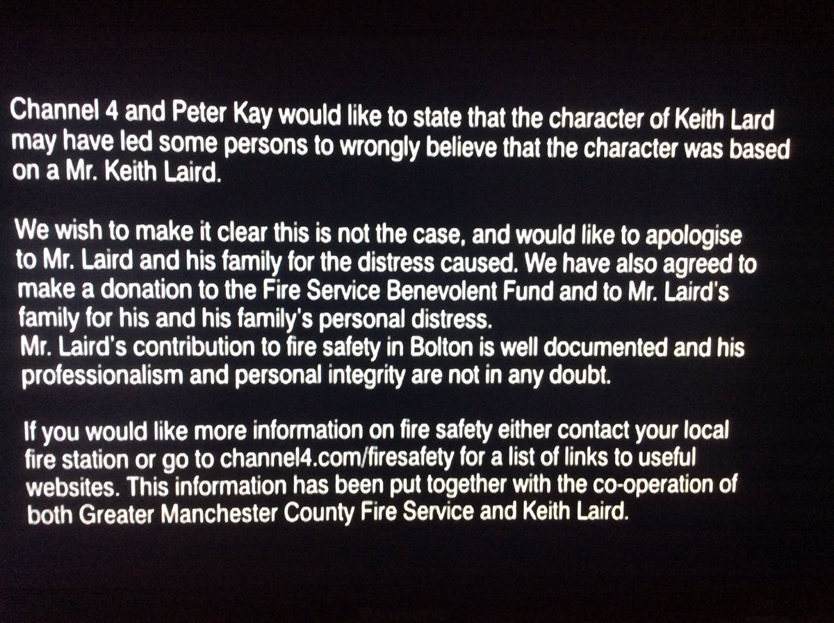 "Disclaimer: Gareth Williams On Twitter: ""Best TV Disclaimer Ever, From"