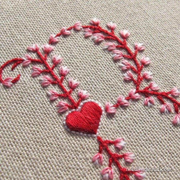 Artsy embroidery makaroka
