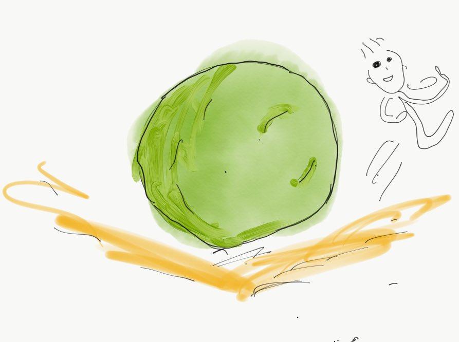 別アングル描きました