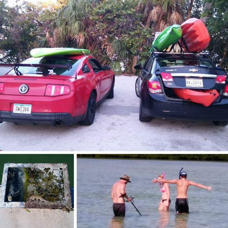 Are you a #Chevy or #Ford person? MMP Agent Larry enjoyed more #Florida life #kayaking #fishing &amp; looking for #treasures! #family #outdoor<br>http://pic.twitter.com/fBZMAAQN3r