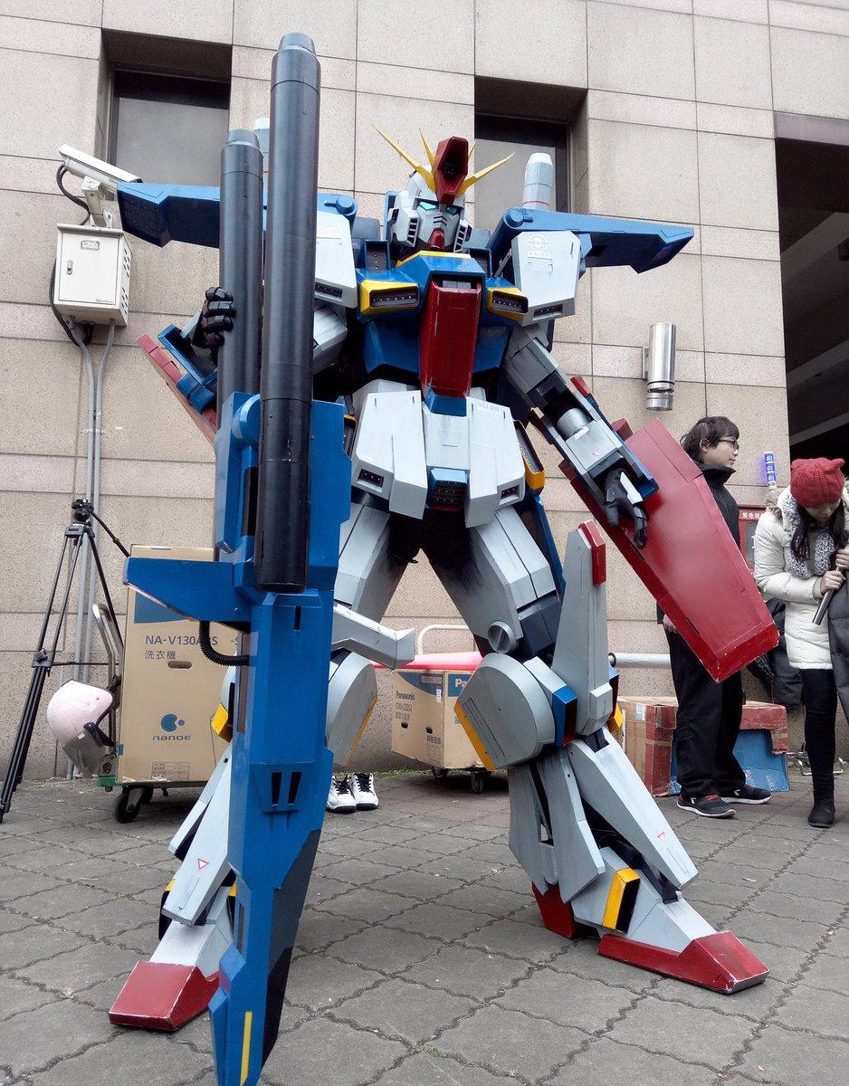 【コスプレ】ZZ ガンダム  台湾FF29  2連装メガ・ビーム・ライフル直立長さ170cm~