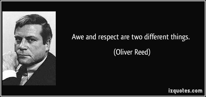 Happy birthday to the late Oliver Reed!