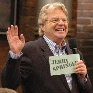 Happy birthday Jerry Springer.