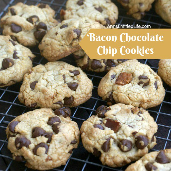 Bacon Chocolate Chip Cookies Recipe