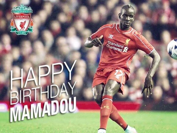 Happy Birthday Mamadou Sakho!