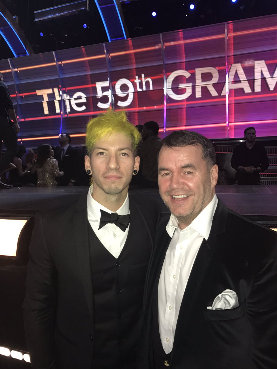 @joshuadun one of the nicest humble guys I've met at the Grammy's see you in the UK