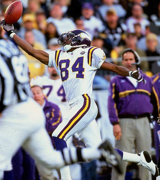 GOAT Happy 40th Birthday Randy Moss