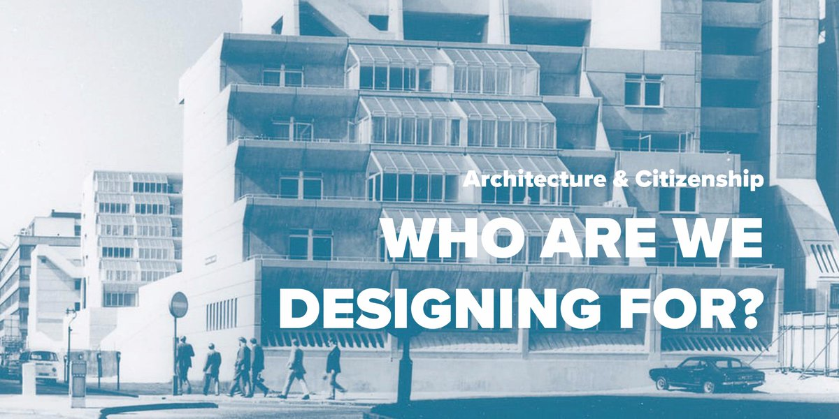 Discussing #Architecture &amp; #Citizenship tonight w/ @AlastairParvin @commonoffice @euanmills @LuciaCaistor @reSITE_ Who are we designing for?<br>http://pic.twitter.com/o2Bd9BjJdm