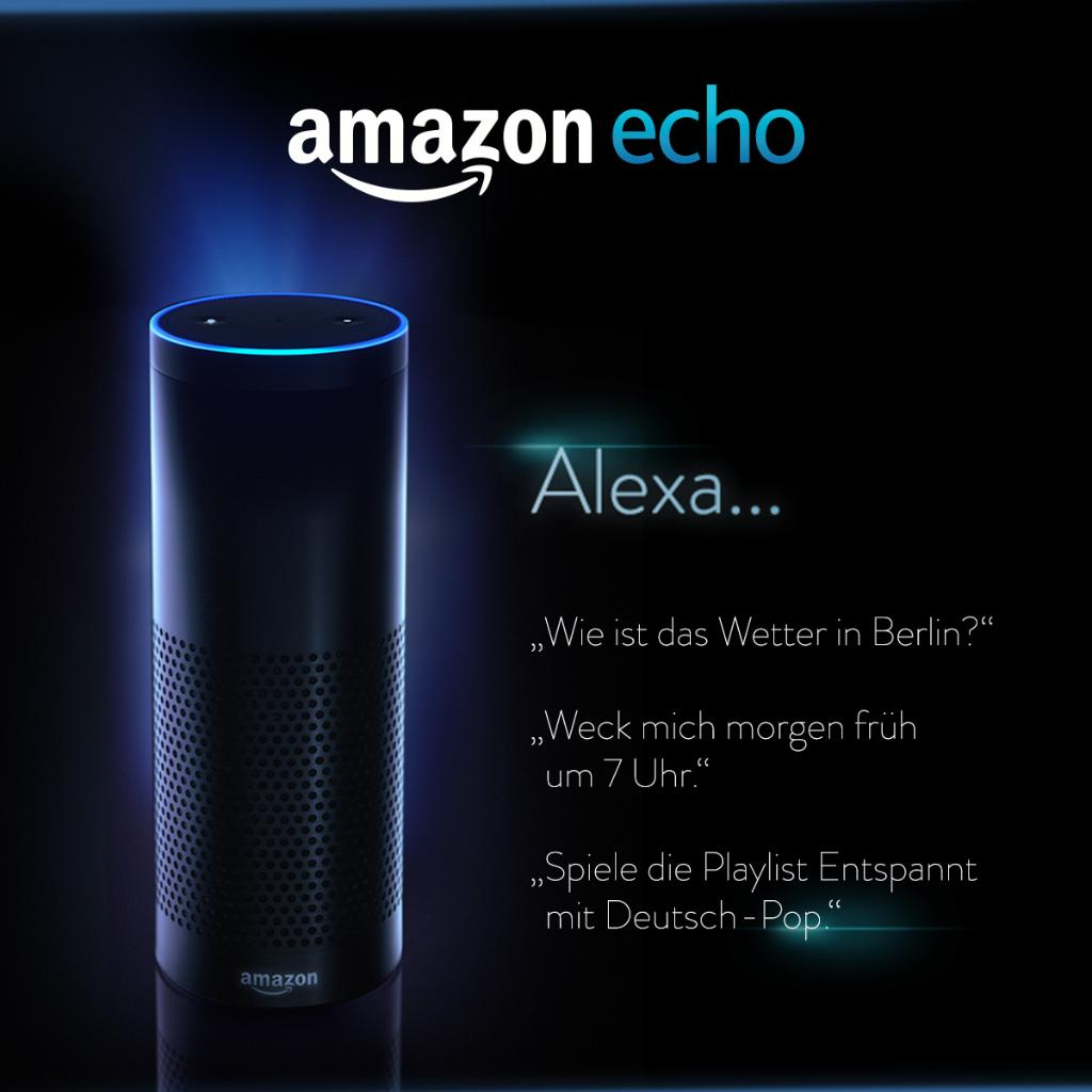 Steuert Amazon Echo allein mit eurer Stimme. Mehr dazu: https://t.co/GmG7AitWTH https://t.co/jiSan5VH4k