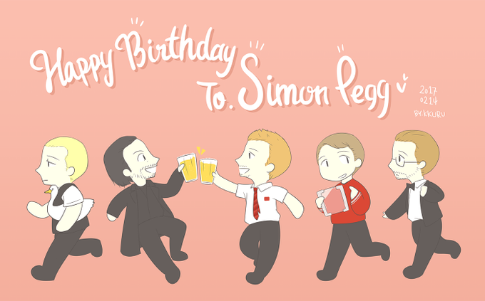 ** HAPPY BIRTHDAY SIMON PEGG **         ; ;