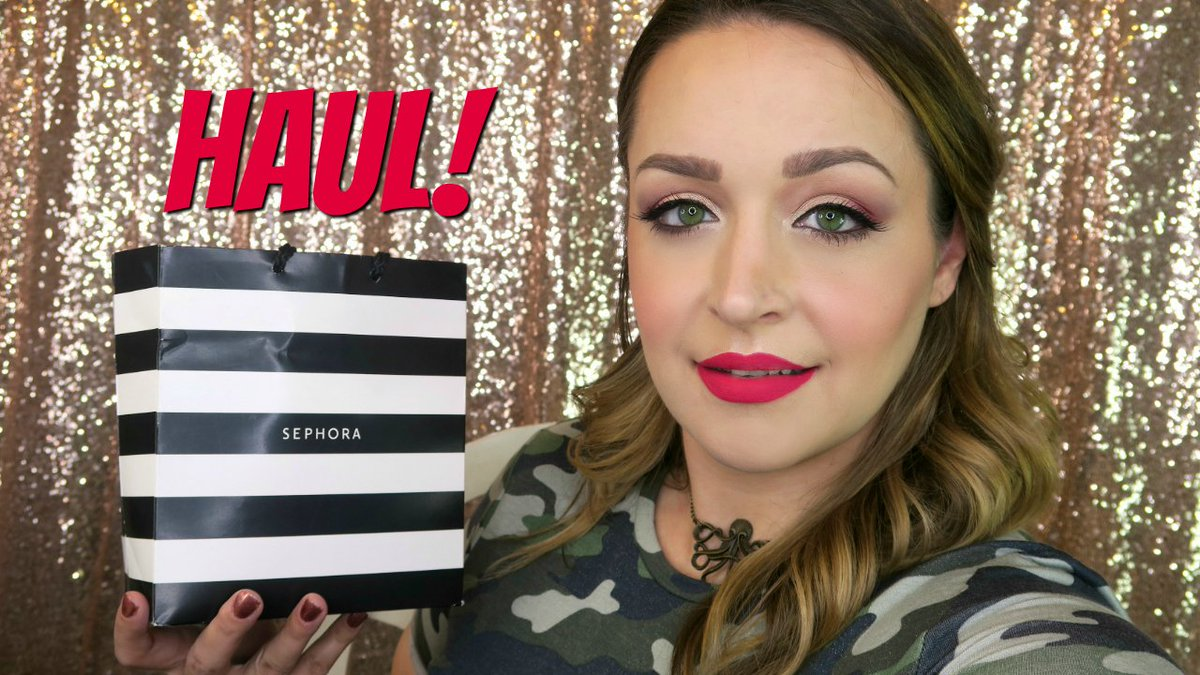 I posted a Sephora haul yesterday in case you missed it!  https:// youtu.be/nnej7vCB0bk  &nbsp;   #sephorahaul <br>http://pic.twitter.com/CDUCgWR0z0