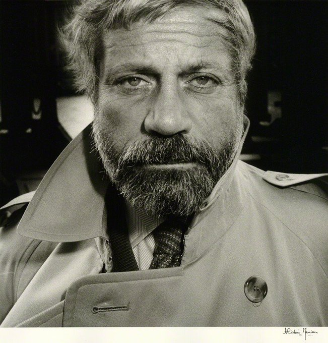 Happy birthday Oliver Reed Great photograph by Alistair Morrison bromide print, September 1985