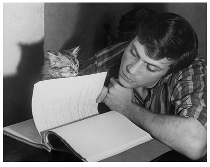Happy birthday Oliver Reed Photo: Chris Ware, September 12, 1960