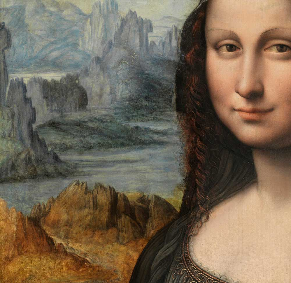 Weird History On Twitter Mona Lisa Has No Eyebrows Because In