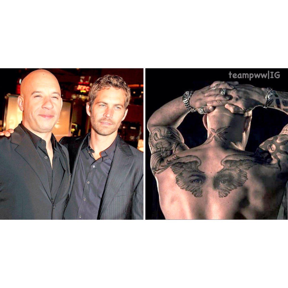 Paul Walker Brazil On Twitter Mcm Tattoo Tribute For Paul By