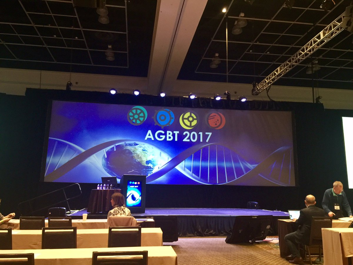 Are you ready to rock this thing people? #AGBT17 is happening! https://t.co/Yfqva6M0nv