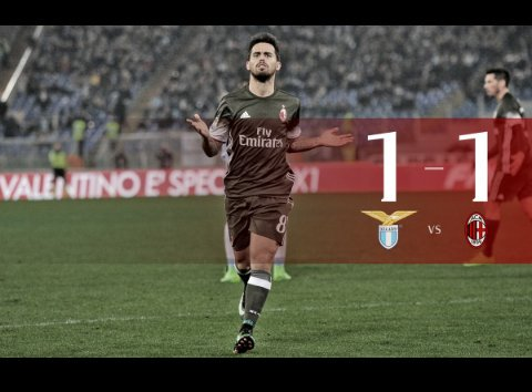 Lazio domina Milan, Suso pareggia all'85' [tabellino + highlights]