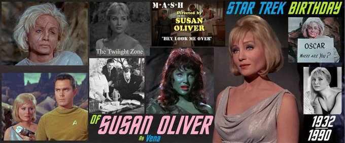 2-13 Happy birthday to the late Susan Oliver.