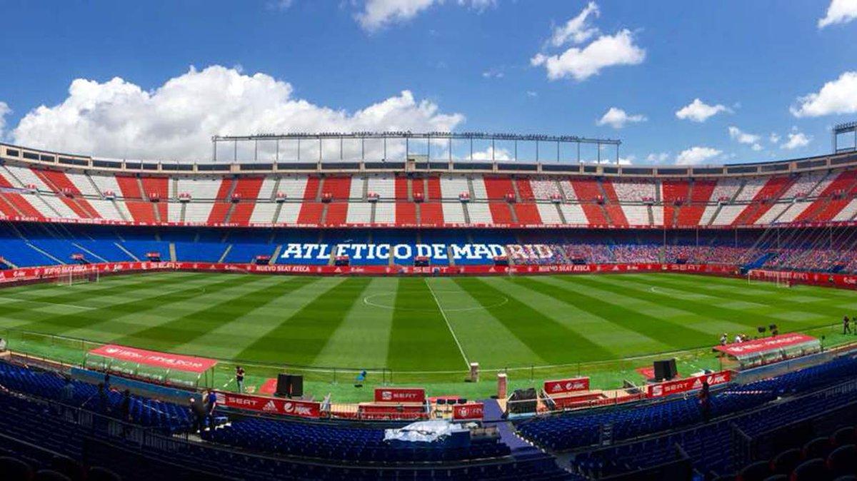 ⚽️🏆 El Vicente Calderón, seu de la final de la Copa del Rei https://t....