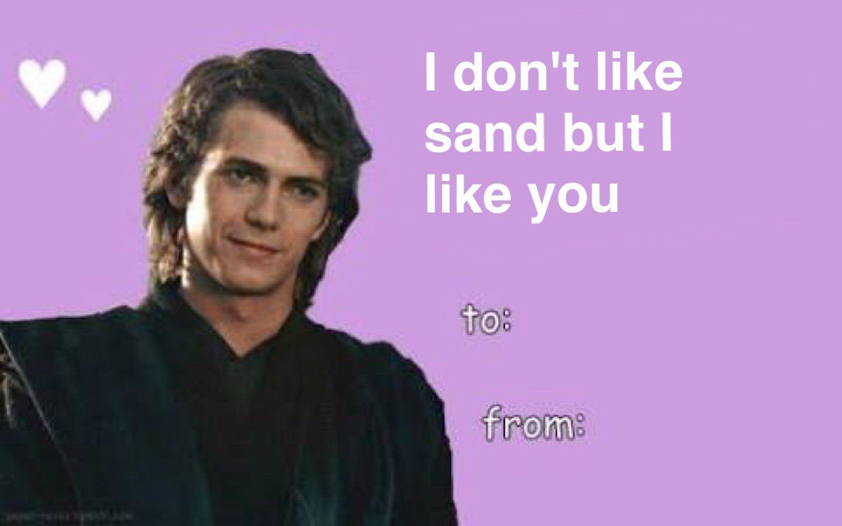 Skywalker On Twitter Star Wars Creating Romantic Valentines