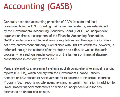 a review of the benefits of statement 45 issued by the government accounting standards board Gasb issues proposed pension standards (government accounting standards board) (accounting) by langowski, stephen f abstract- the government accounting standards board (gasb) has recently.