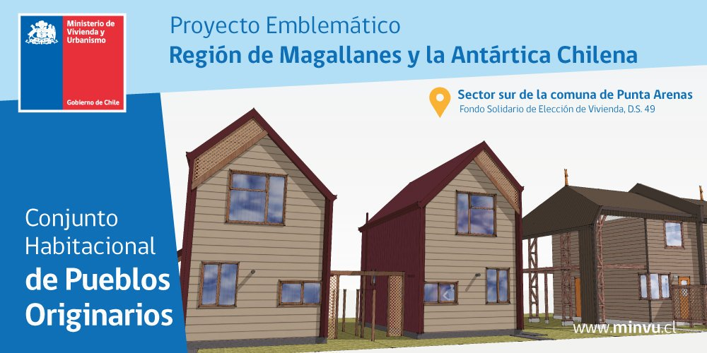 En #Magallanes diseñamos pioneras viviendas Kaweshkar, Yagán y Mapuche #ConstruirMasyMejor<br>http://pic.twitter.com/eGvWMbbc6L