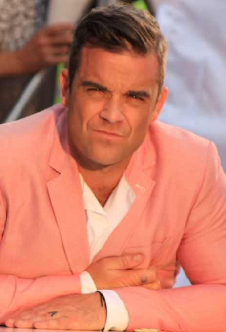 in 1974: Robbie Williams is born, formed just 16 years later! Happy Mr Williams!