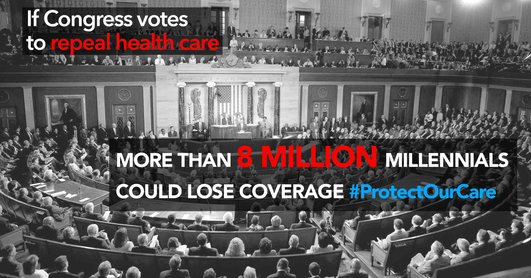 A2: Not hundreds. Not thousands. But MILLIONS of millennials could lose healthcare coverage if the #ACA is repealed. #MillennialMon https://t.co/AUIkVtiddQ