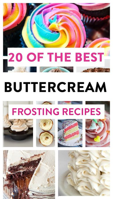 20 Best Buttercream Frosting Recipes
