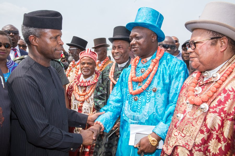Acting president Prof. Yemi Osinbajo has disclosed that the federal government has secured funding of $1 billion to develop the Niger Delta region.