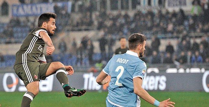 Monday Night Serie A: Suso salva il Milan contro la Lazio