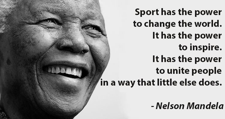 sports unites people United through sport uses the power of sport to transform lives by improving education, raising health awareness and building life skills in children from disadvantaged communities from around the world.