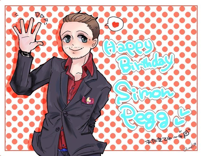 Happy Birthday Simon Pegg!!