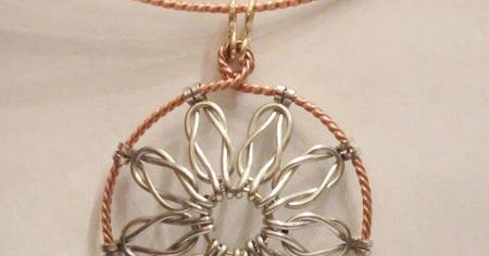 Love Knot Wire Work Pendant Tutorial