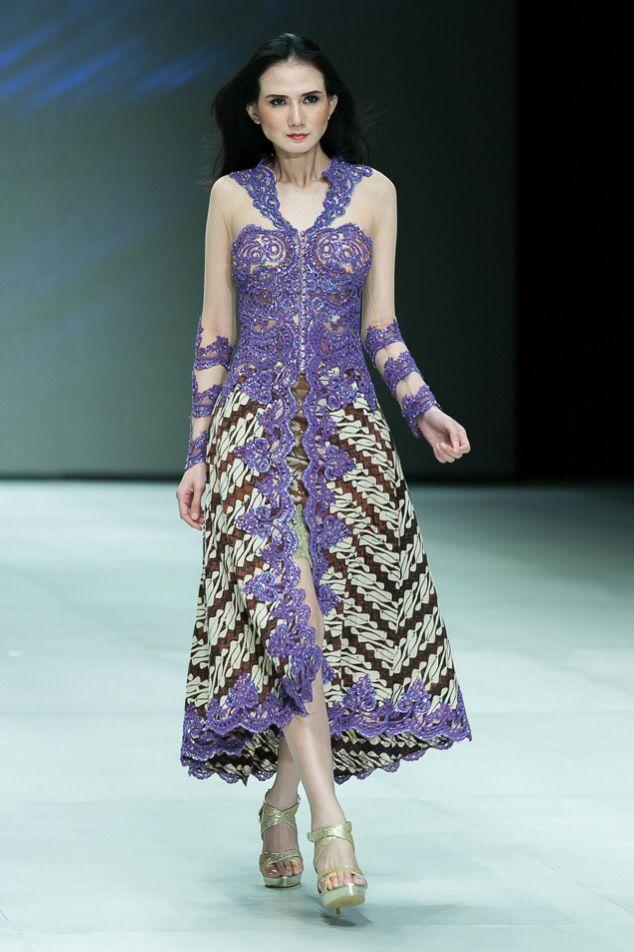 Elsa Safira No Twitter Model Dress Batik Kombinasi Terbaru