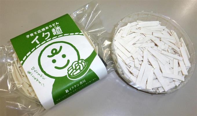 「イク麺」で子育て支援 香川、幼児向けうどん考案 sankei.com/photo/daily/ne…