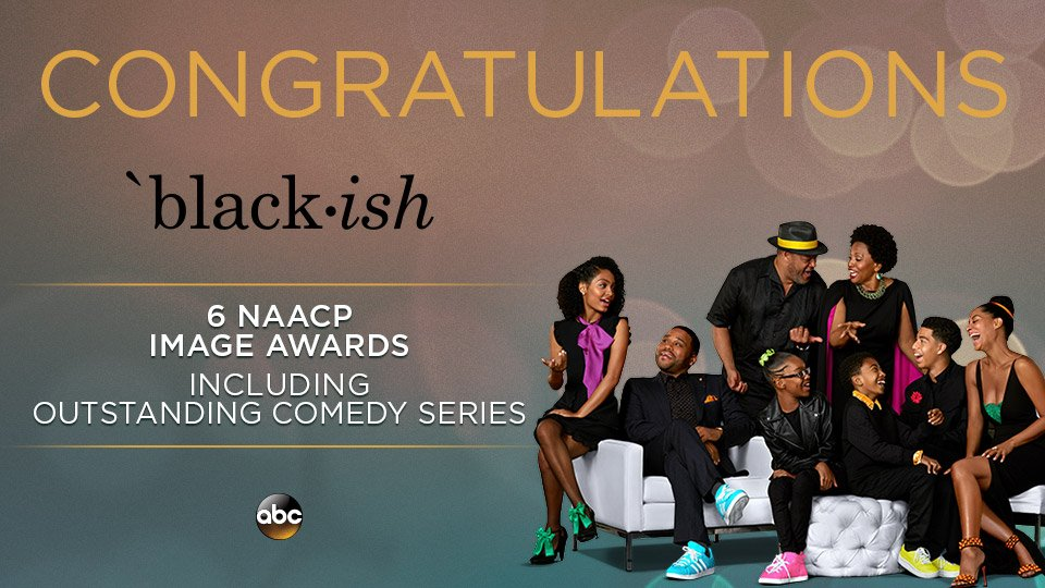 🏆🏆🏆🏆🏆🏆 That's SIX! Congrats to the entire #blackish family for their N...