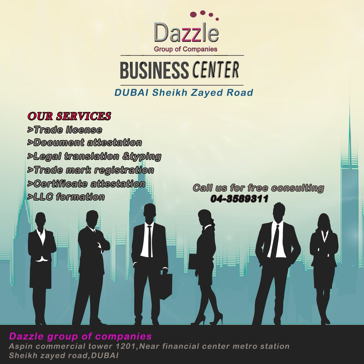 Dazzle Group on Twitter: