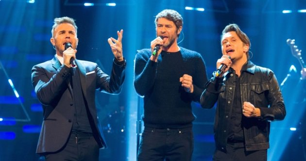 JUST ANNOUNCED: The @takethat boys will be on the show on Friday at 8am... all the goss on their new single #Giants https://t.co/yWKcbD5N0w