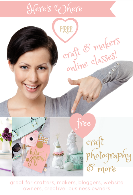 Online Classes For Crafts / Makers And Creative Business Owners! Free!!