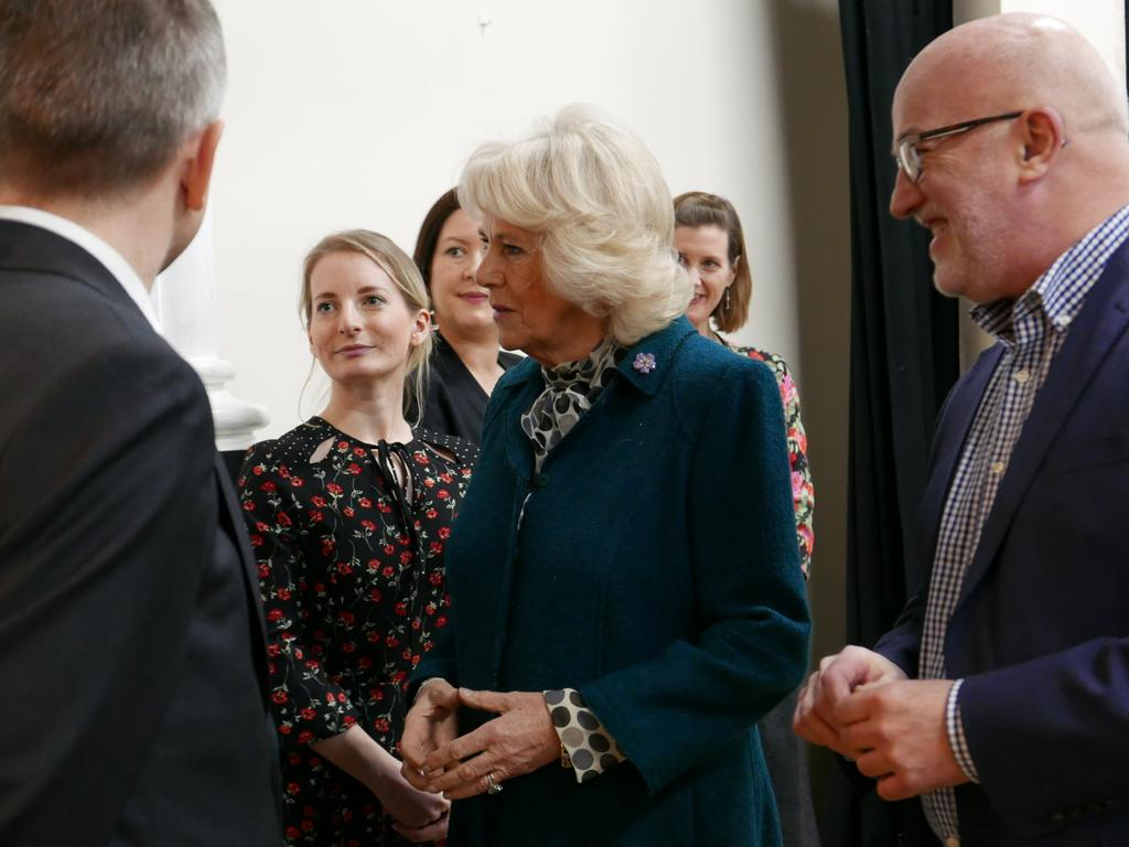We are delighted to welcome our president HRH The Duchess of Cornwall to enjoy today's tea. https://t.co/kVneog6wdf