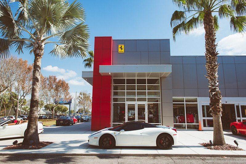 """ferrari of tampa bay on twitter: """"just a normal day here at ferrari"""