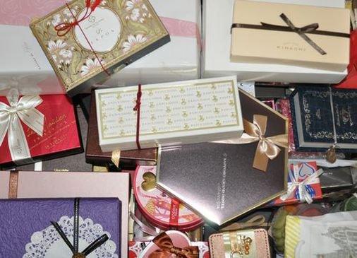 ハッピーバレンタイン! 今年もキャラクター、スタッフにたくさんの贈り物をいただきありがとうございます…