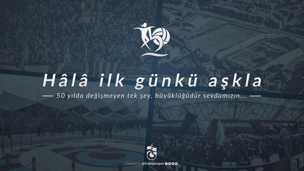Hala ilk günkü aşkla... #SevgililerGünü #SevdamBordoMavi #Trabzonspor #50Yıl