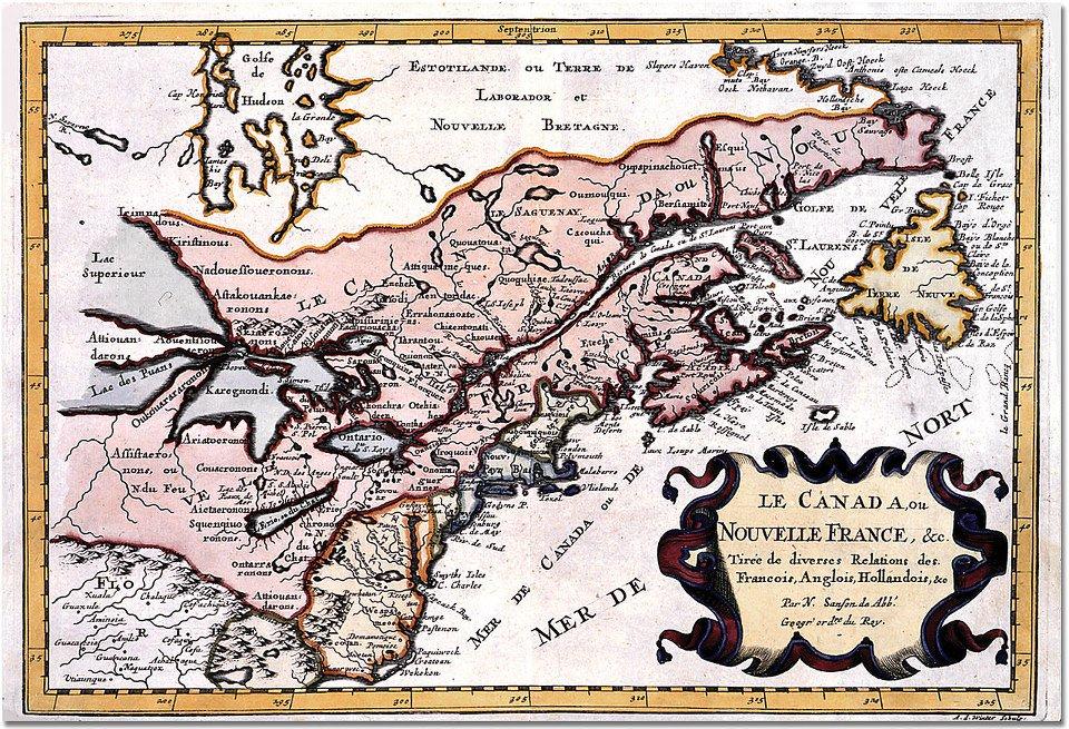 Le #14février 1663, #LouisXIV fait de la #NouvelleFrance (#Canada) une #province du #royaume de #France avec un Conseil Souverain à #Québec. <br>http://pic.twitter.com/VoPaFP35AL