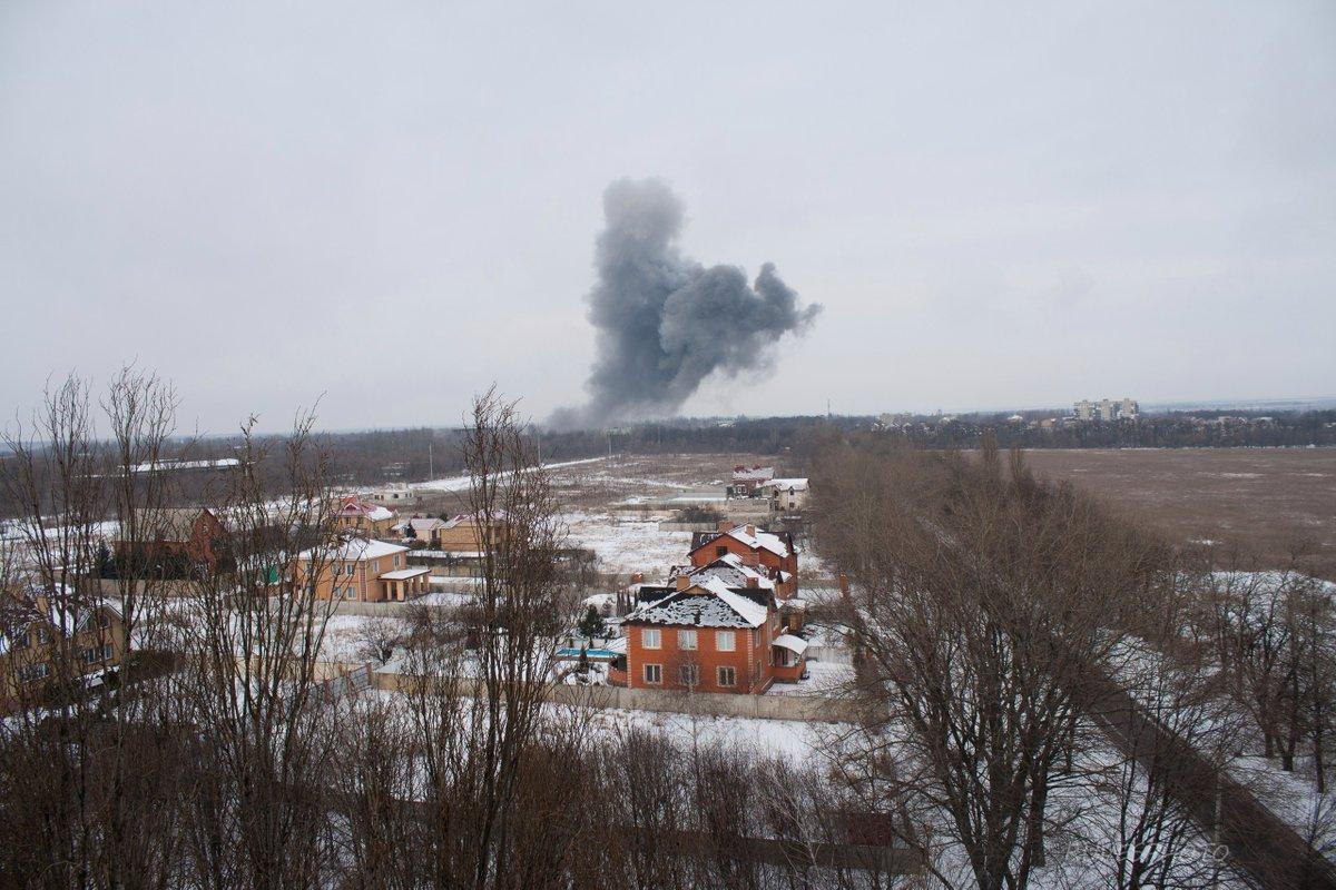 С начала текущих суток боевики продолжают поливать огнем позиции ВСУ в Широкино и Водяном, - Киндсфатер - Цензор.НЕТ 2176