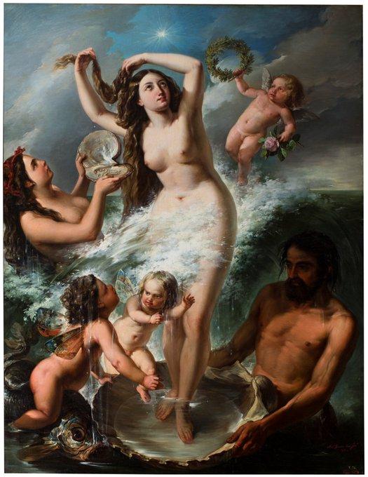 Resultado de imagen de Nació de la espuma del mar