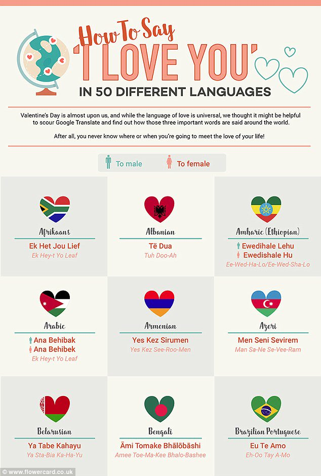 Say yes in different languages